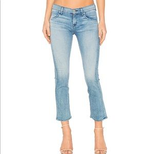 HUDSON JEANS | Bailee midrise crop (baby boot)